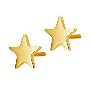 Örhängen Sirius, stjärna - Edblad, Guld