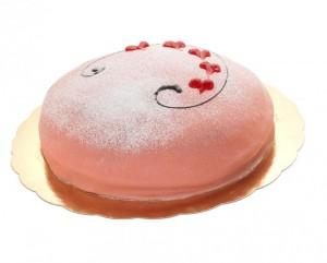 skicka tårta prinsesstårta