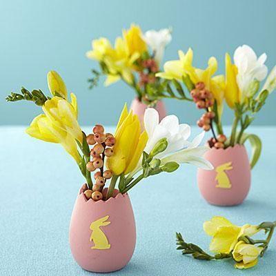ägg blomvas