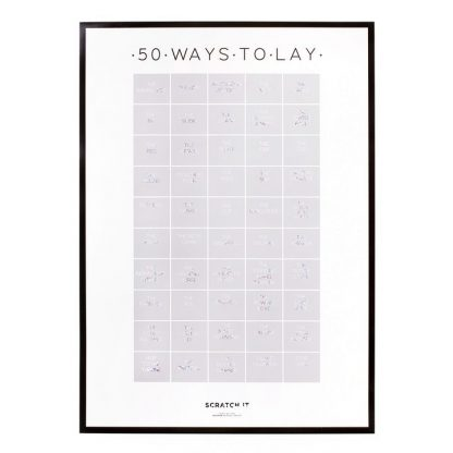 50 Ways To Lay Scratch Poster