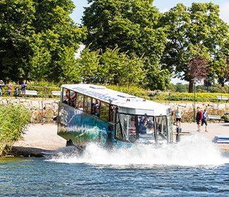 Amfibiebuss Sightseeing Göteborg