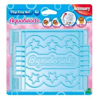 Aquabeads Flip Pärlplatta-set