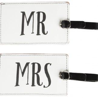 Bagagetag Mr & Mrs (Mr)