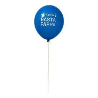 Ballonger Världens Bästa Pappa - 8-pack