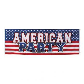 Banderoll American Party -