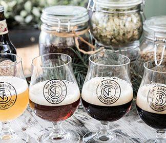 Brewery, Beers and Burgers för två