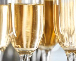 Champagne provning