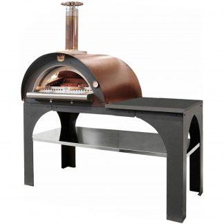 Clementi Pizza Party Vedeldad Pizzaugn 80x60 cm. Koppar