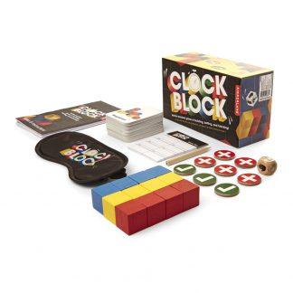 Clock Block Sällskapsspel