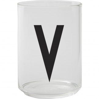 Design Letters Dricksglas, V