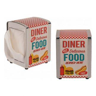 Diner Servetthållare i Rostfritt