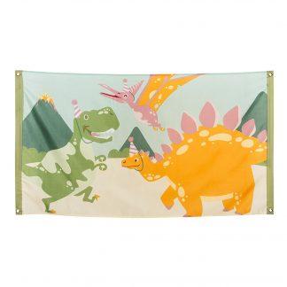 Dino Party Flagga