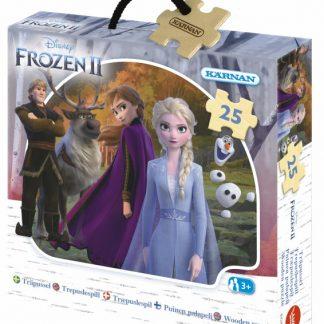 Disney Frozen 2 Askpussel trä 25 bitar