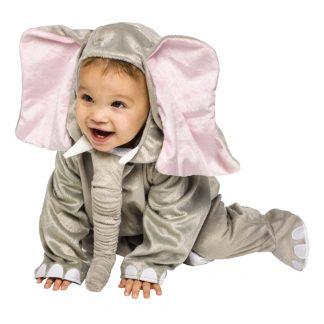 Elefant Bebis Maskeraddräkt - One size