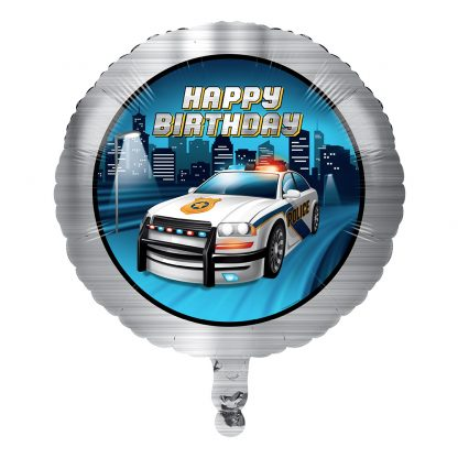 Folieballong Polis Party - 1-pack