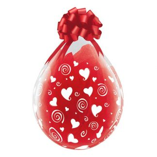 Fyllningsballonger Alla Hjärtans Dag - 25-pack