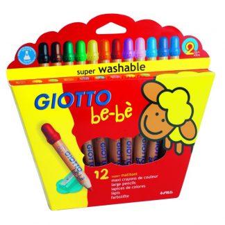 Giotto be-bè Extra tjocka Färgpennor 12-pack