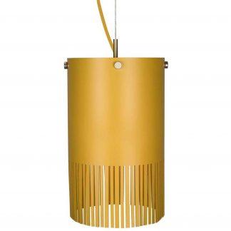 Globen Lighting Pendel Fringe Gul