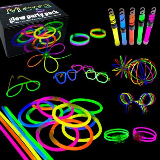 Glowsticks Mega Party Pack