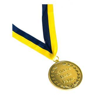 Guldmedalj Världen Bästa Pappa - 1-pack