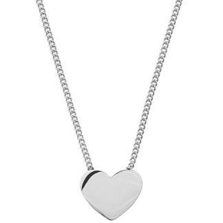 Halsband Pure Heart, hjärta - Edblad, Stål