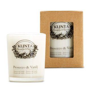 Klinta massageljus / doftljus - Prosecco & Vanilj, Litet - 18 h