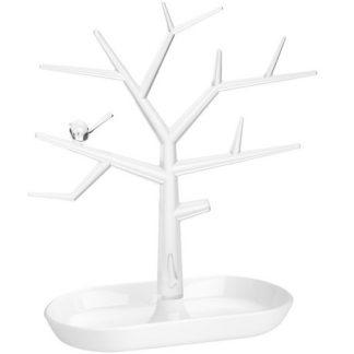 Koziol smyckesträd - PIP, Vit / Transparent