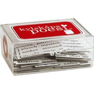 Kylskåpspoesi - Magneter med ord, Kärleksord