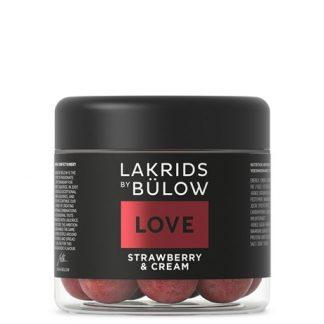 LOVE - Strawberry & Cream - Lakrids By Bülow, 125g