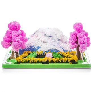 Magisk Växande Kristall Trädgård