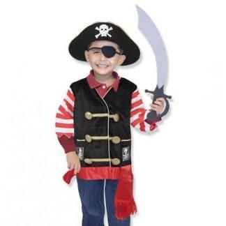 Melissa & Doug Pirat-set Utklädnad (3-6 år)