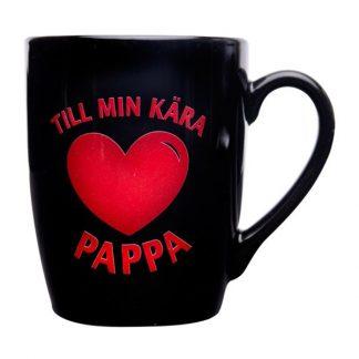 Mugg Till Min Kära Pappa - Vit
