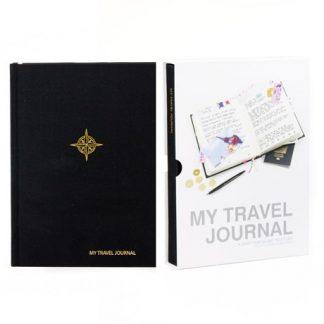 My Travel Journal - Resedagbok, Svart