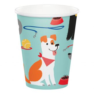 Pappersmuggar Dog Party - 8-pack