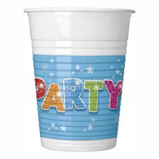 Plastmuggar Party - 8-pack