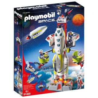 Playmobil Space Marsraket med avfyrningsplats 9488