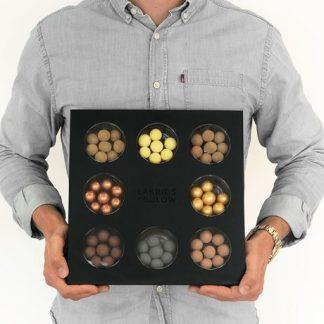Presentask med lakrits - Bülow Selection Box, Svart