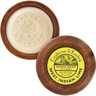 Raktvål, Lime - Crabtree & Evelyn, Raktvål med skål