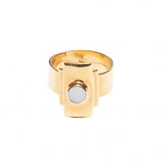 Ring Modernista Zenit gold