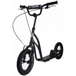 "STIGA - Air Scooter 12"" (Svart)"