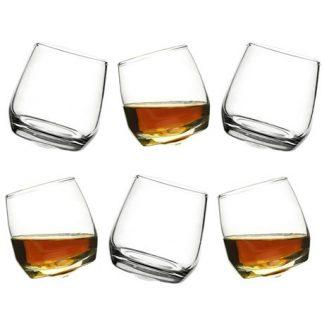 Sagaform - Whiskyglas med rundad botten (6-pack)