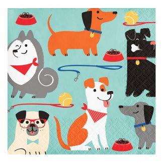 Servetter Dog Party - 16-pack
