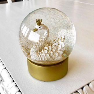 Snöglob - Svan, Guld