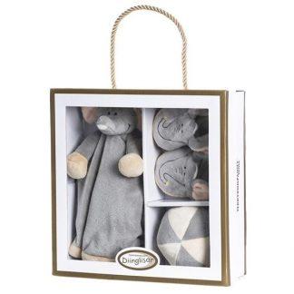 Teddykompaniet - Diinglisar Wild - Giftbox elefant