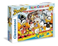 Tidningen DuckTales MAXI Pussel Supercolors, 104 bitar 1 nummer
