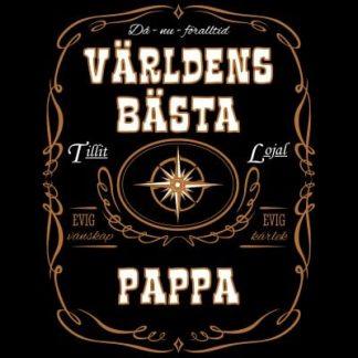 Världens bästa pappa T-shirt