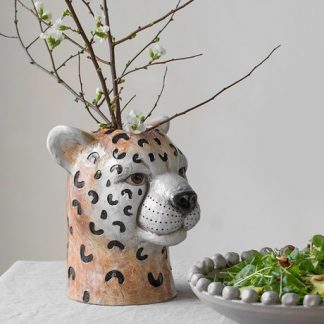 Vas Cheetah, stor - ByOn, Brun